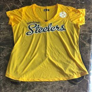 NFL Pittsburgh Steelers Short sleeve Top Large